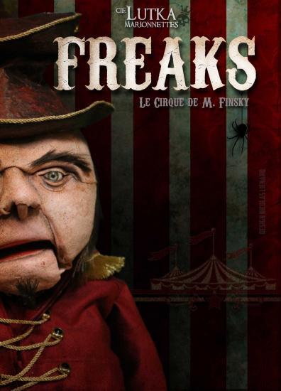 Affiche freaks lutka marionnettes bis