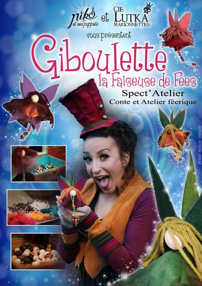 Affiche Giboulette la faiseuse de fee