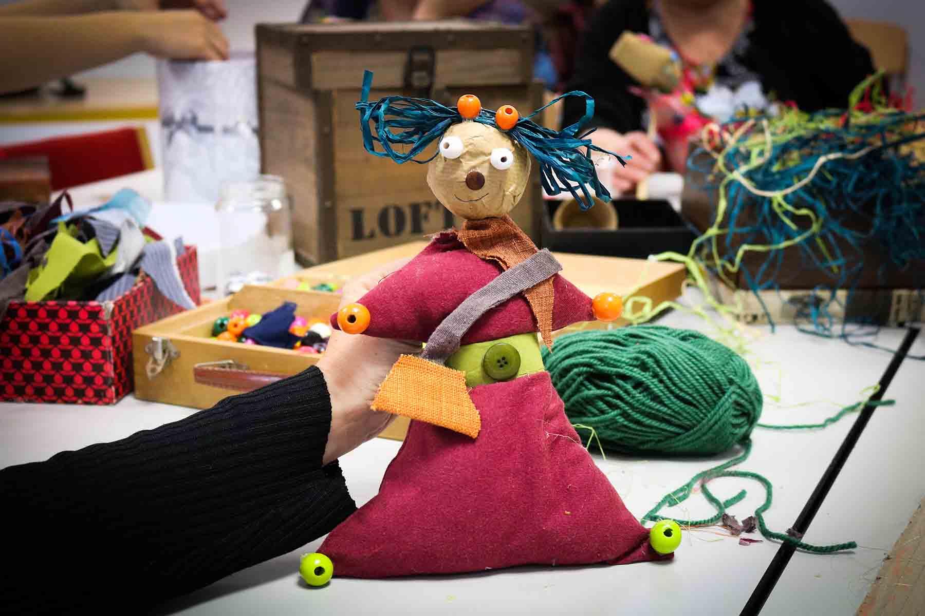 Atelier de Fabrication de marionnettes