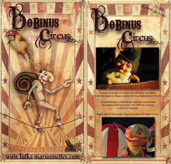 Bobinus circus cie lutka marionnettes site