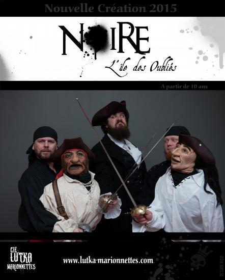 Cie lutka marionnettes noire l ile des oublies spectacle pirates pour les plus de 12ans