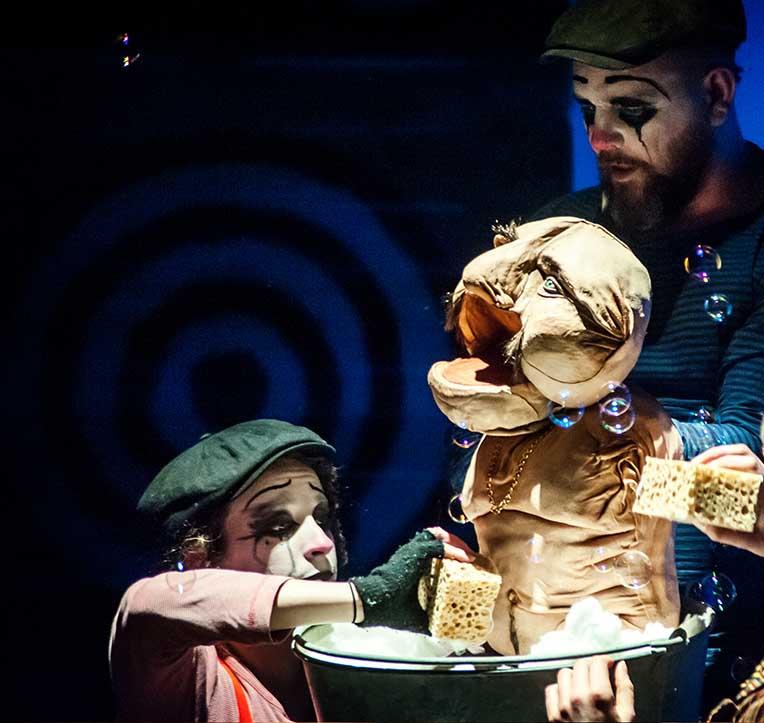 Freaks Le cirque De M Finsky Lutka Marionnettes