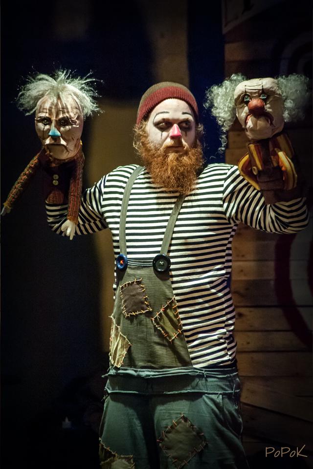 Freaks Le cirque De M Finsky Lutka Marionnettes 5
