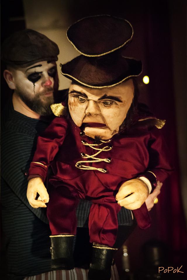 Freaks Le cirque De M Finsky Lutka Marionnettes 6
