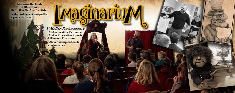 Information imaginarium atelier performance compagnie lutka  Marionnettes