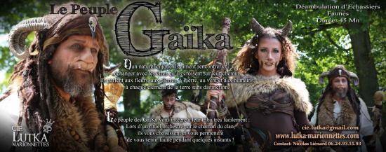 Information le peuple gaika les faunes compagnie lutka 2019