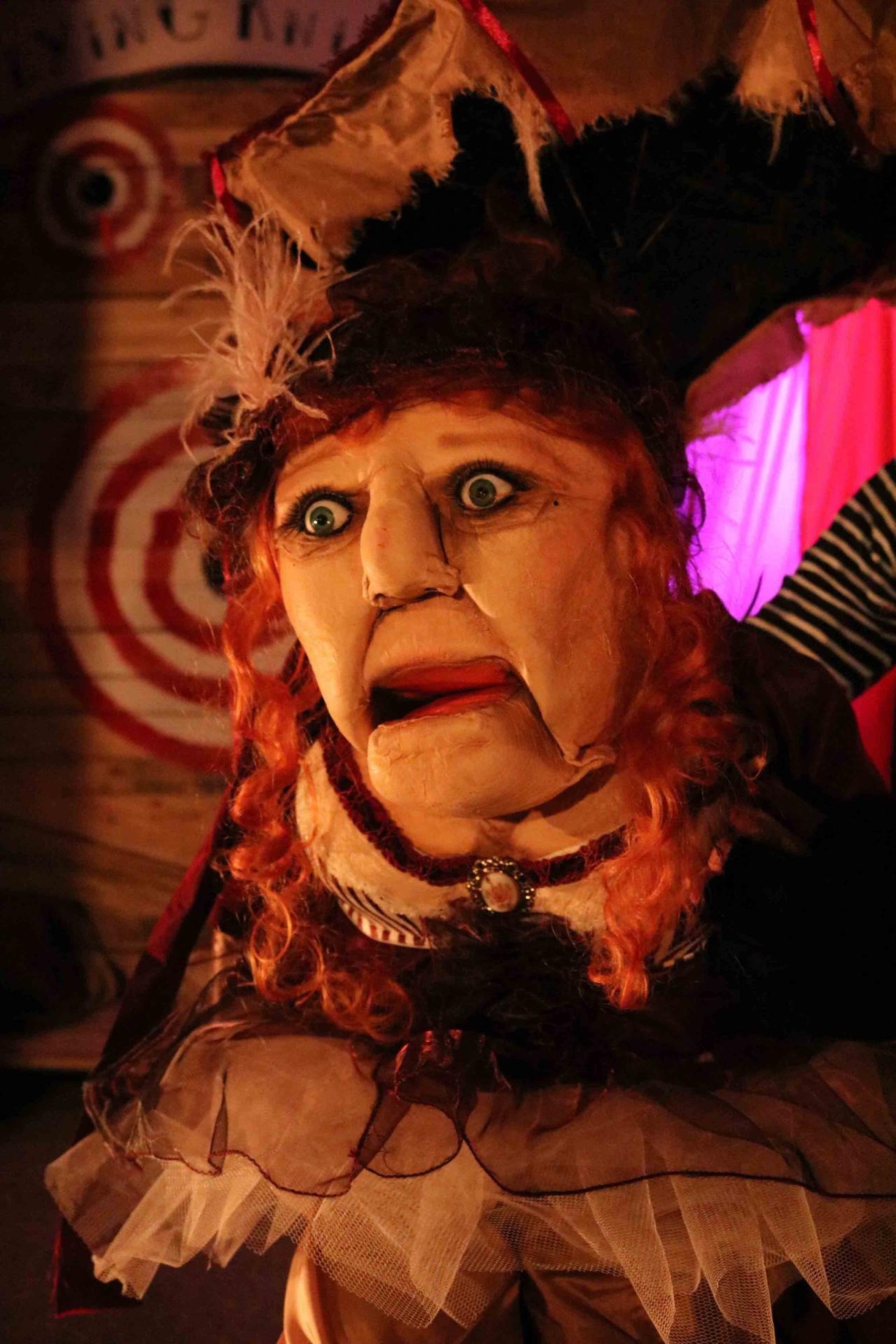 Freaks Le cirque De M Finsky Lutka Marionnettes 18