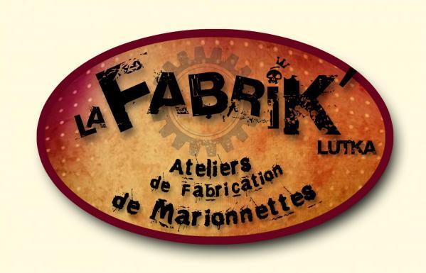 Logo la fabrik lutka atelier de fabrication de marionnettes avec fond couleur site 1