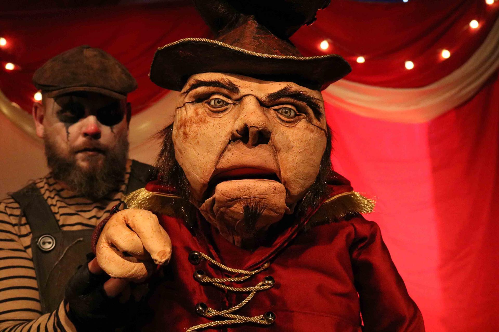 Freaks Le cirque De M Finsky Lutka Marionnettes 19