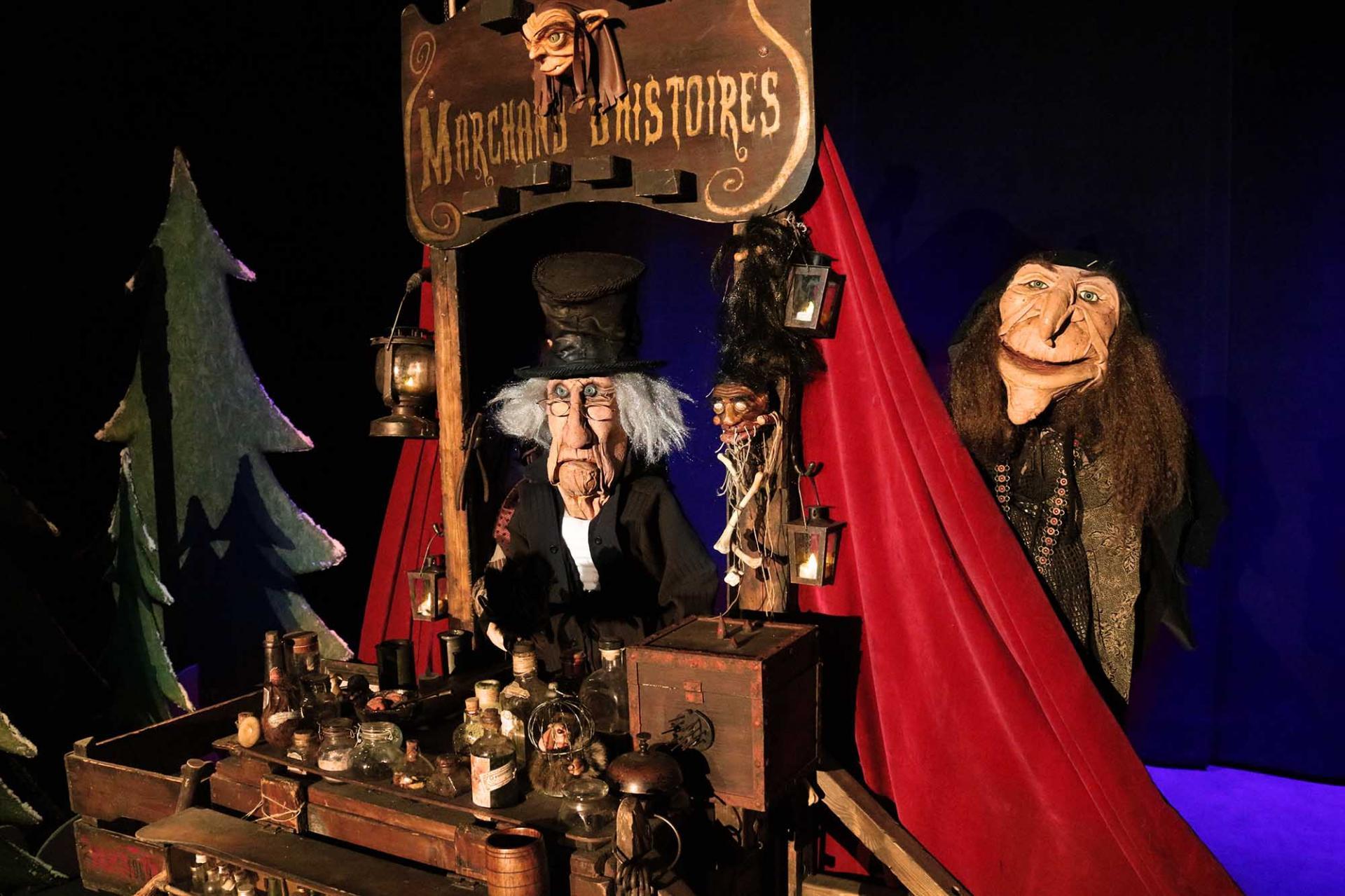 Marchand d'histoires 2 Cie Lutka Marionnettes