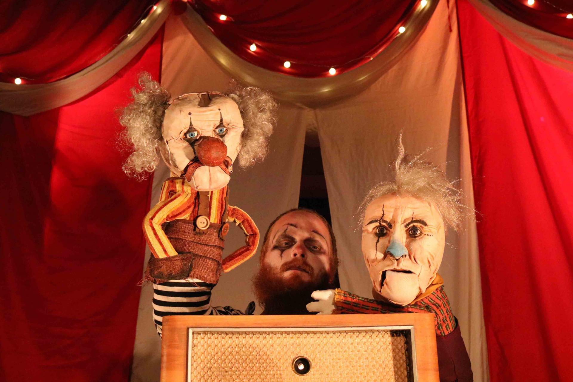 Freaks Le cirque De M Finsky Lutka Marionnettes 15