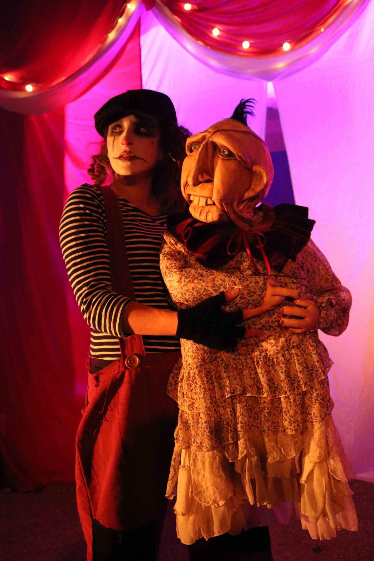 Freaks Le cirque De M Finsky Lutka Marionnettes 17