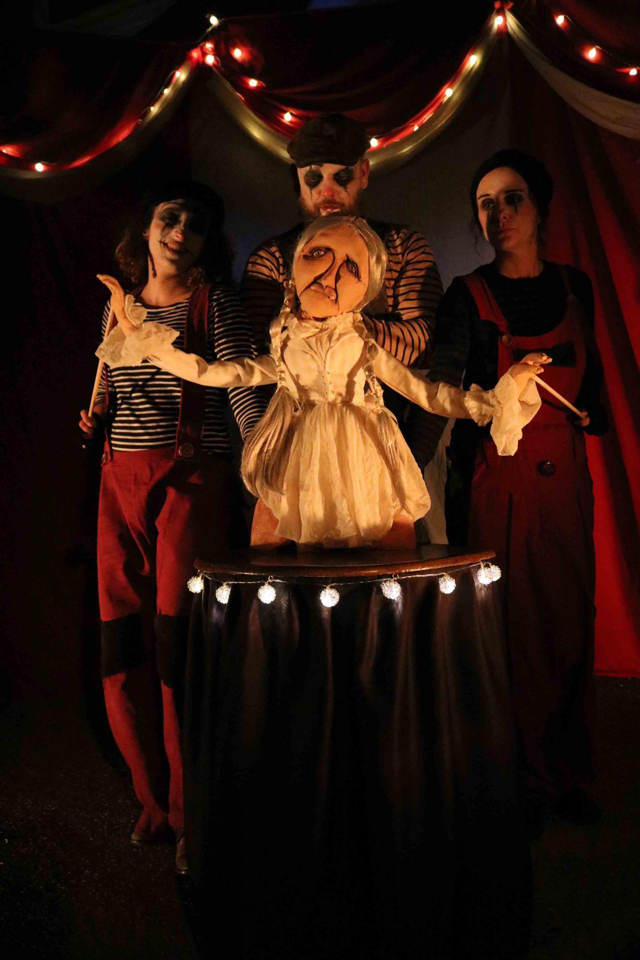 Freaks Le cirque De M Finsky Lutka Marionnettes 16